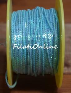 PA301 paillettes azzurre
