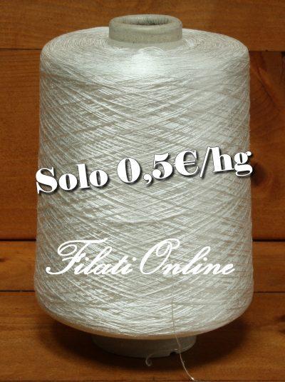 A50B filato in polyester Bianco 1335gr 6,68€ - 1335gr 6,68€ - 1340gr 6,70€ disponibili altre rocche