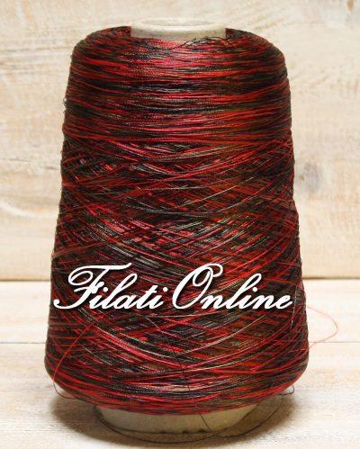 VI60rv Viscosa simil seta stampata rosso e verde chiaro e scuro 330gr 11,55€ - 390gr 13,65€ - 460gr 16,10€ - 515gr 18,03€ - 515gr 18,03€