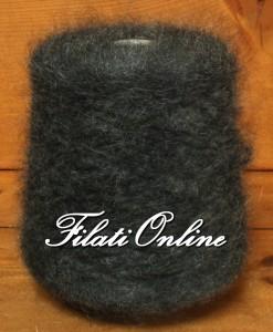 WM407MB Filato misto lana e mohair marrone blu 605gr 18,15