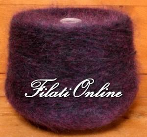 WM407V Filato misto lana e mohair viola uva 1195gr 35,85€