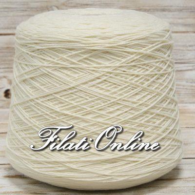 WOE250BP Filato elasticizzato misto lana bianco panna 990gr 20,79€