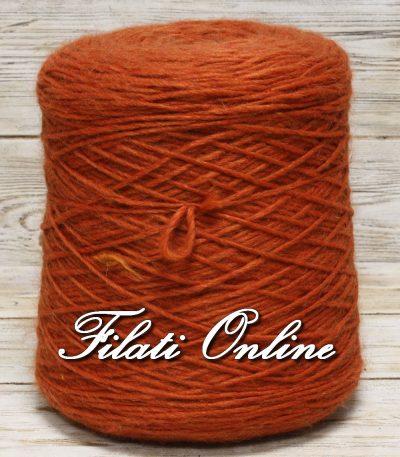 WO330A filato stoppino misto lana e alpaca arancio 1030gr 19,57€ ultima rocca