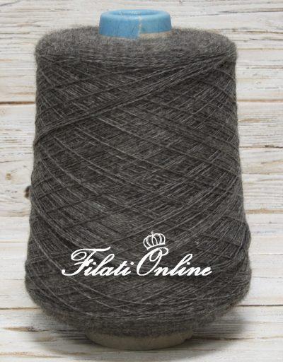 WP150G Filato di pura alpaca grigio melange 1005gr 56,28€ - Disponibili altre rocche
