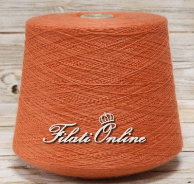 WV105AS Filato pura lana arancio salmone 1340gr 36,18€ - 1350gr 36,45€ - 1330gr 36,05€