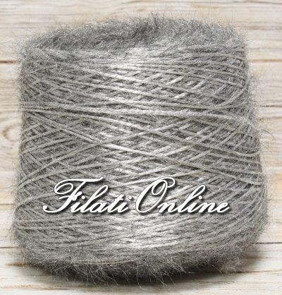 P300G filato pelliccioso grigio argento  1285gr 38,55€