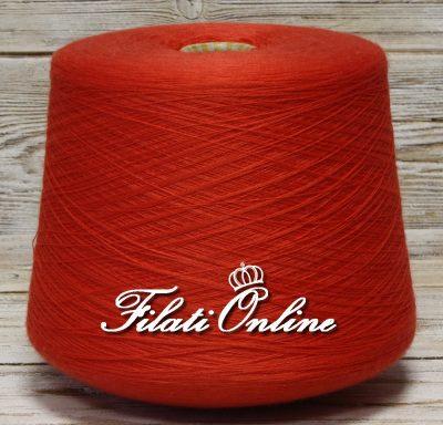 WVM80rc Filato di puro merino extrafine Harmony woolmar colore rosso corallo 1260gr 50,40€