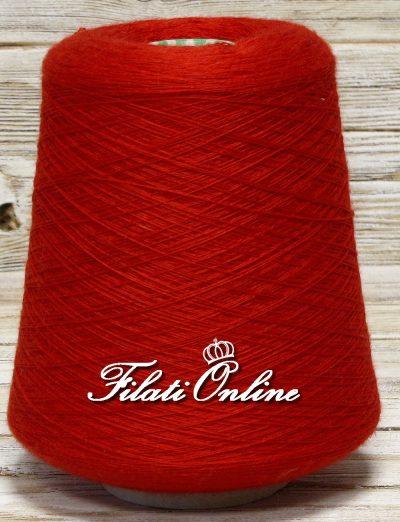 WVM80ro Filato di puro merino extrafine Harmony woolmar colore rosso 575gr 23€