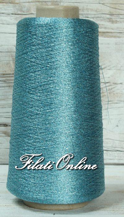 L101 Filato in LUREX azzurro