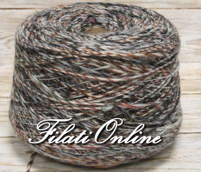 WO403G Filato stoppino misto lana multicolore grigio 855gr 16,24€ - 1260gr 23,94€