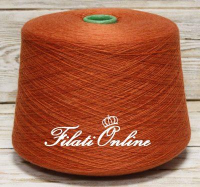 WVM110AR filato in puro merino extrafine LANA GATTO Harmony arancio aragosta