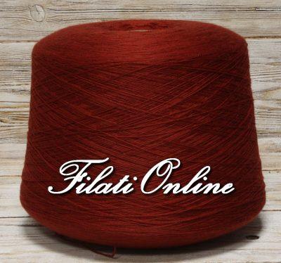 WVM110RS filato in puro merino extrafine colore rosso scuro