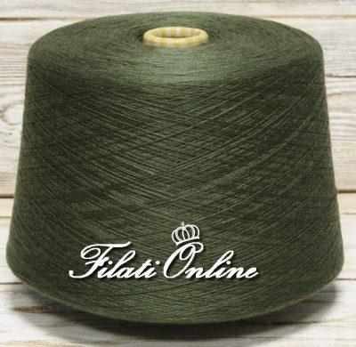 WVM110VO filato in puro merino extrafine LANA GATTO Harmony Woolmar verde oliva uzzano