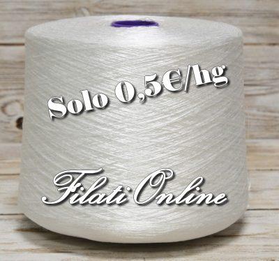A50B filato in polyester Bianco 1340gr 6,70€ disponibili altre rocche