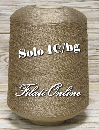 VIE51b Filato in viscosa elasticizzato colore beige