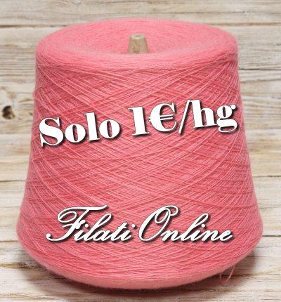 WO102 filato misto lana color rosa