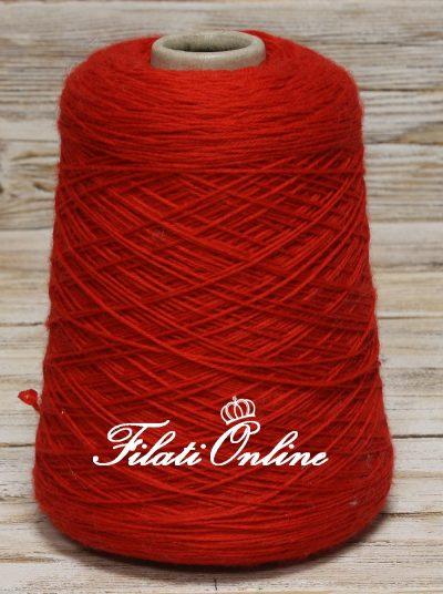 WVM150r filato in puro merino irrestringibile Sesia rosso