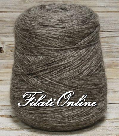 WVM300 filato in puro merino color  grigio melange