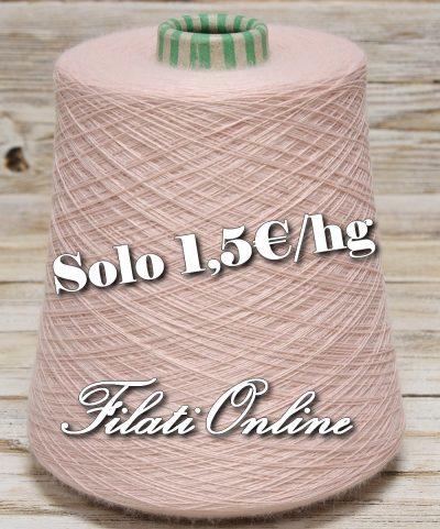 WVMO105R Filato misto merino rosa antico 590gr 8,85€ - 500gr 7,50€ - 675gr 10,13€ disponibili altre rocche