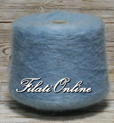WM150 Filato misto mohair color azzurro