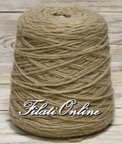 WO501b Filato stoppino misto alpaca beige caldo cammello