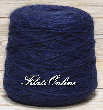WO501b Filato stoppino misto alpaca blu