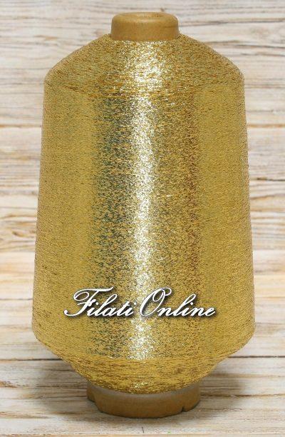 L10 Filato in LUREX piattina colore oro