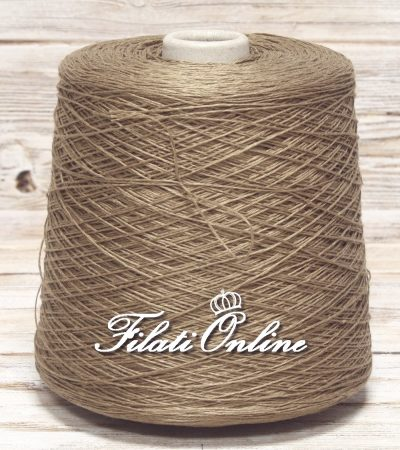 LI100c filato in puro lino nocciola corda cammello 755gr 22,65 - 815gr 24,45€ - 620gr 18,60€ - 635gr 19,05€ disponibili altre rocche