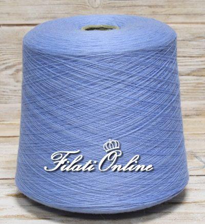 WV102 Filato in pura lana color azzurro