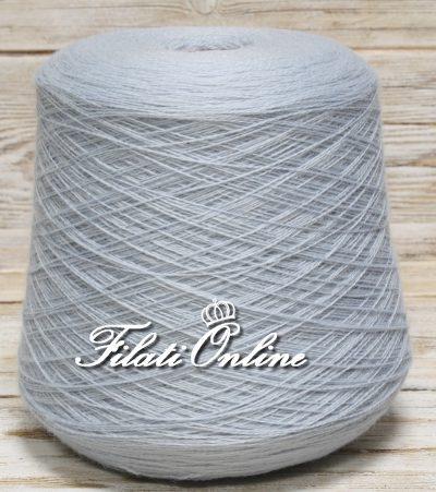 WV150a Filato in pura lana color azzurro