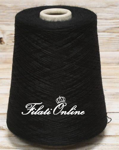 WVMO102 filato misto merino color nero