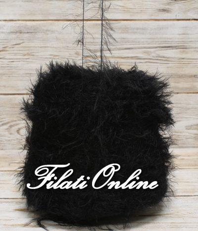 P150n Filato pelliccioso morbidissimo colore nero