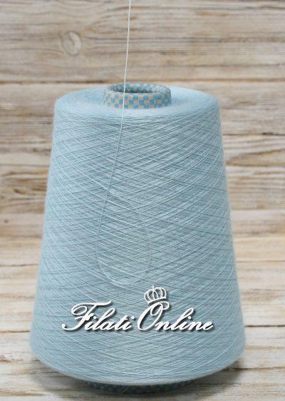 WVMO55 Filato CARIAGGI in merino seta e cashmere azzurro turchese