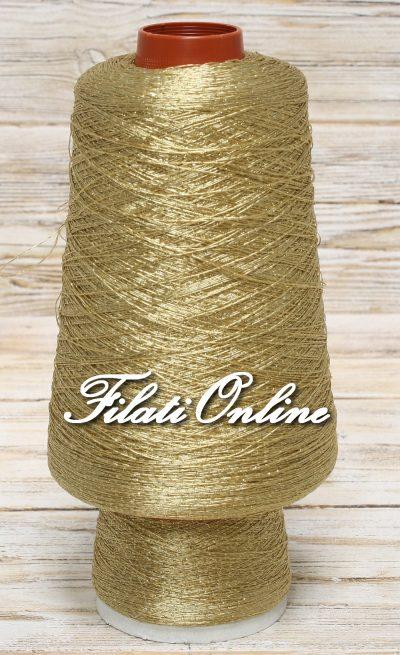 AL100 filato oro con lurex oro per abiti eleganti