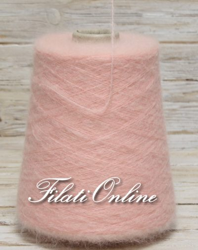 WM154 Filato misto kid mohair color rosa tenue