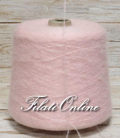 WM155 Filato misto mohair color  rosa confetto