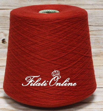 WS108 Filato in puro cashmere CARIAGGI colore rosso