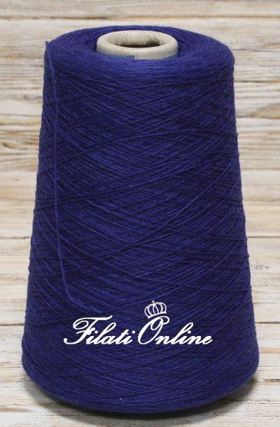 WS109 Filato in puro cashmere CARIAGGI colore blu elettrico