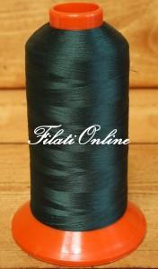 KA4 poliestere verde scuro per ricamo e taglia cuci
