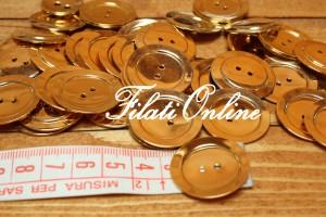 BO270 bottoni color oro