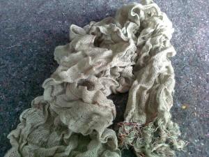 2. la sciarpa finita