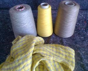 lino lurex cotone