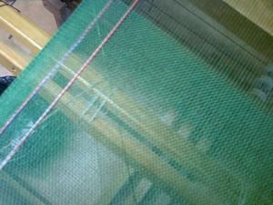 il lavoro sul telaio