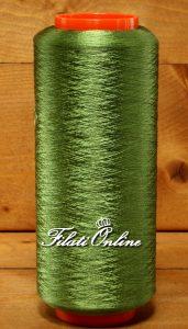 SE55V Filato in pura seta verde 120gr 9,60€ - 380gr 30,40€ - 515gr 41,60€ - 500gr 40€