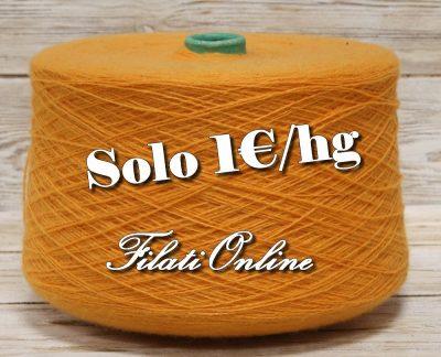 WO155AR filato misto lana arancio 1350gr 27€ - 1345gr 26,90€ - 1365gr 27,30€ disponibili altre rocche