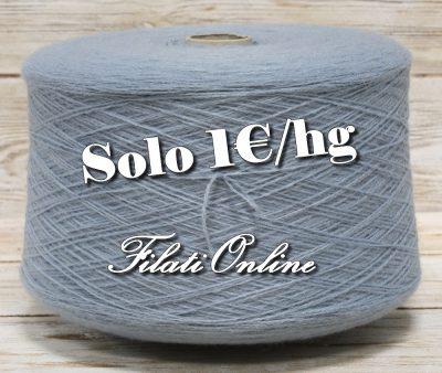 WO155AZ filato misto lana azzurro 1375gr 27,50 - 1360gr 27,20€ - 1300gr 26€