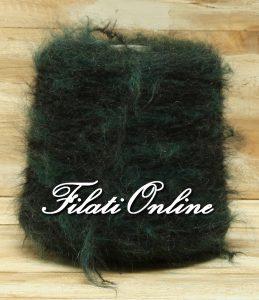 WME403NV Filato elasticizzato kid mohair nero verde melange 670gr 50,92€ - 805gr 61,18€
