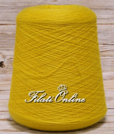 WV105G Filato pura lana giallo 830gr 22,41€
