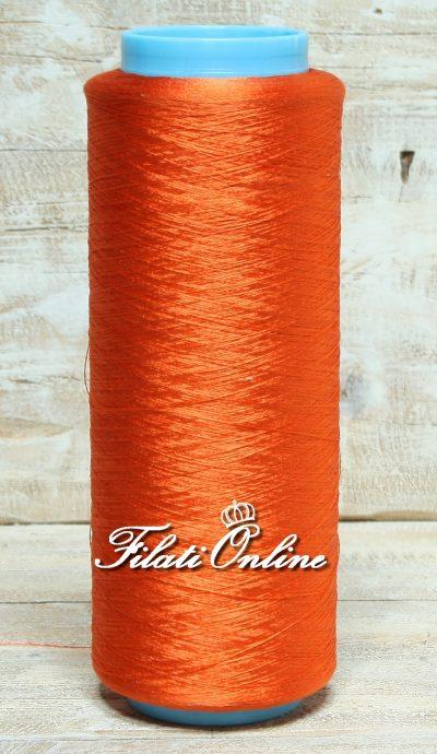 SE52AR Filato in pura seta arancio 255gr 20,40€ - 150gr 12€ - 225gr 18€ - lotto 6 rocche dal peso totale netto 190gr 15€