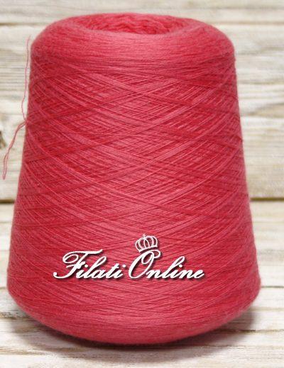 WVM80RF Filato di puro merino extrafine Lana Gatto Harmony marrone mogano bruciato Harmony woolmar colore tamaris rosa fuxia